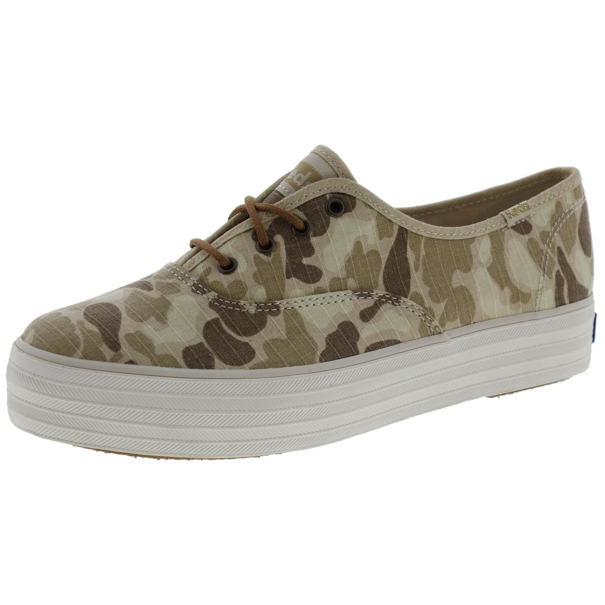 Keds Womens Canvas Camouflage Fashion Sneakers by Keds