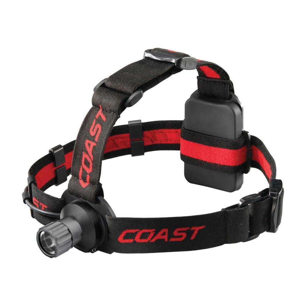 Coast Headlamp Alkaline LED Zoomable Headlight HL40