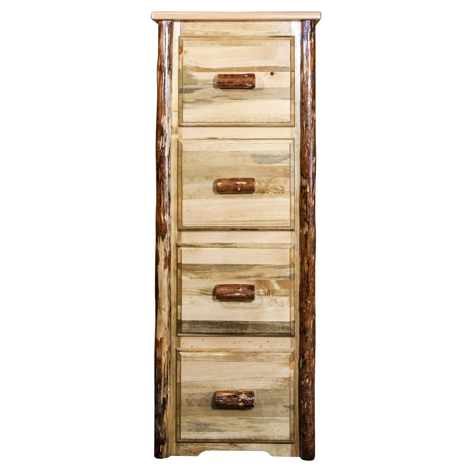 Montana Woodworks Glacier Country 4-Drawer File Cabinet