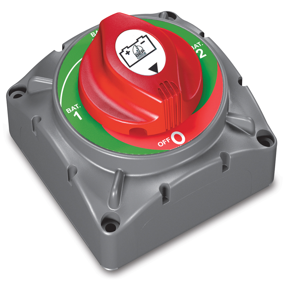 Marinco BEP Heavy-Duty Battery Selector Switch, 1-2-Both-Off