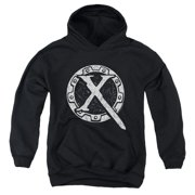 Xena Warrior Princess Sigil Big Boys Pullover Hoodie