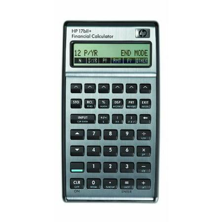 17bII Financial Calculator 22-Digit LCD 17bII Financial Calculator, 22-Digit LCD ()