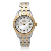 Invicta 17489 Stainless Steel 'Angel' Rhinestone Round Face Chronograph Watch