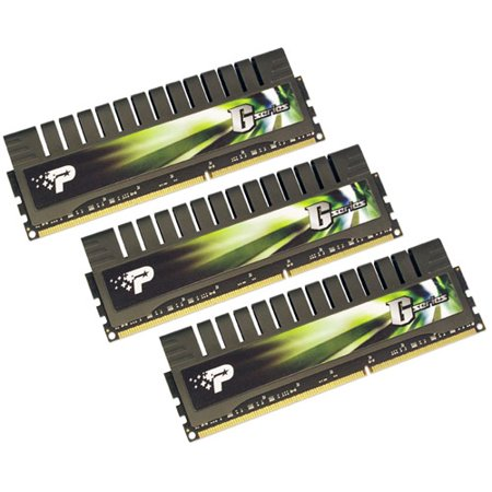 Patriot Extreme Performance Gaming Series 6GB (3 x 2GB) 240-Pin DDR3 SDRAM DDR3 1333 (PC3 10666) Desktop Memory Model