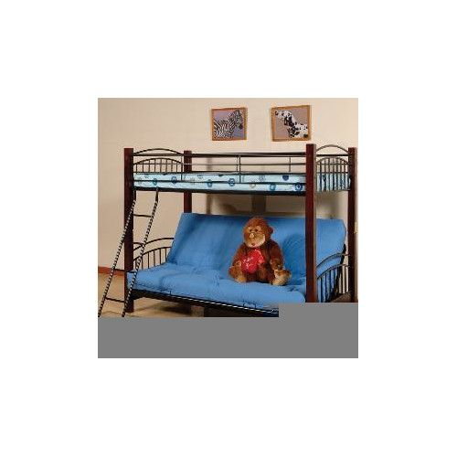 Wildon Home Brooklyn Twin Over Full Futon Bunk Bed Walmart Com