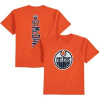 dd227df17 Connor McDavid Edmonton Oilers Fanatics Branded Youth Backer Name   Number T -Shirt - Orange