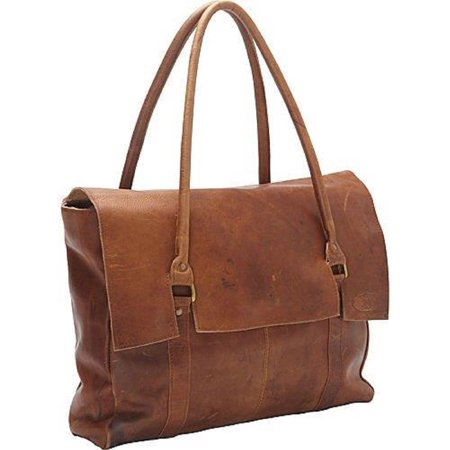 Sharo Large Oversized Soft Brown Leather Handbag - XL