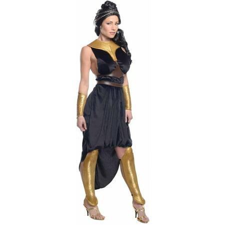 300: Rise Of An Empire Deluxe Queen Gorgo Dress Women's Adult Halloween Costume (Empire Halloween)