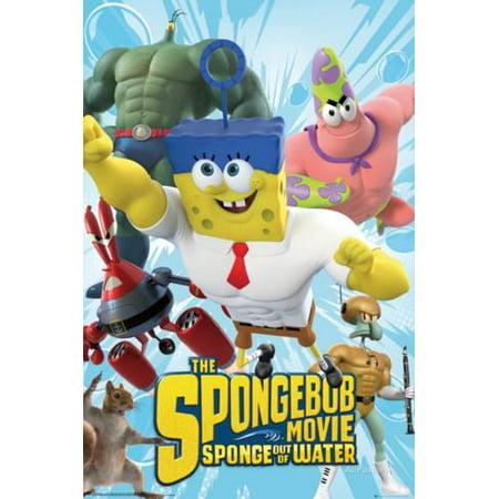 Spongebob Movie - Characters Poster - 24x36