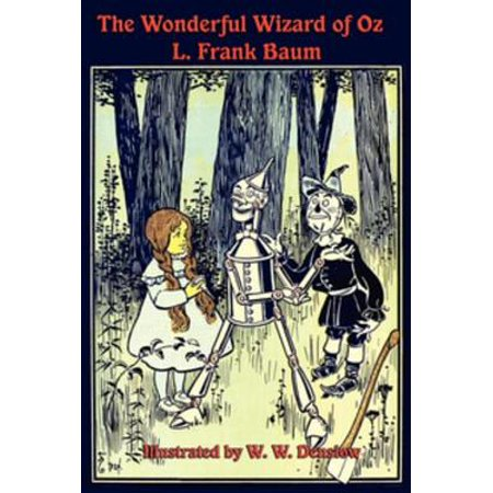 The Illustrated Wonderful Wizard of Oz - eBook (Toto From Wizard Of Oz)