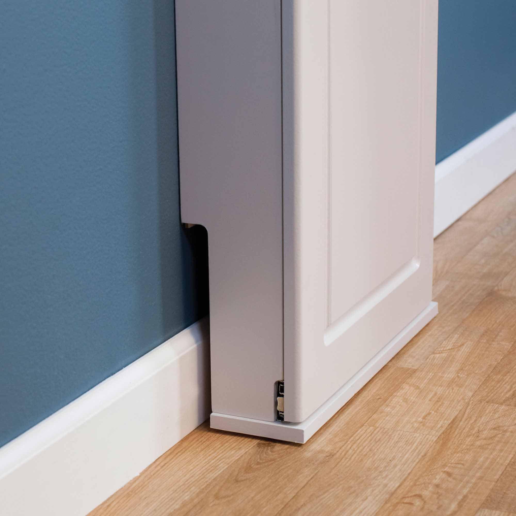 Household Essentials Iron Nu0027 Fold Height Adjustable Wall Cabinet Ironing  Board   Walmart.com