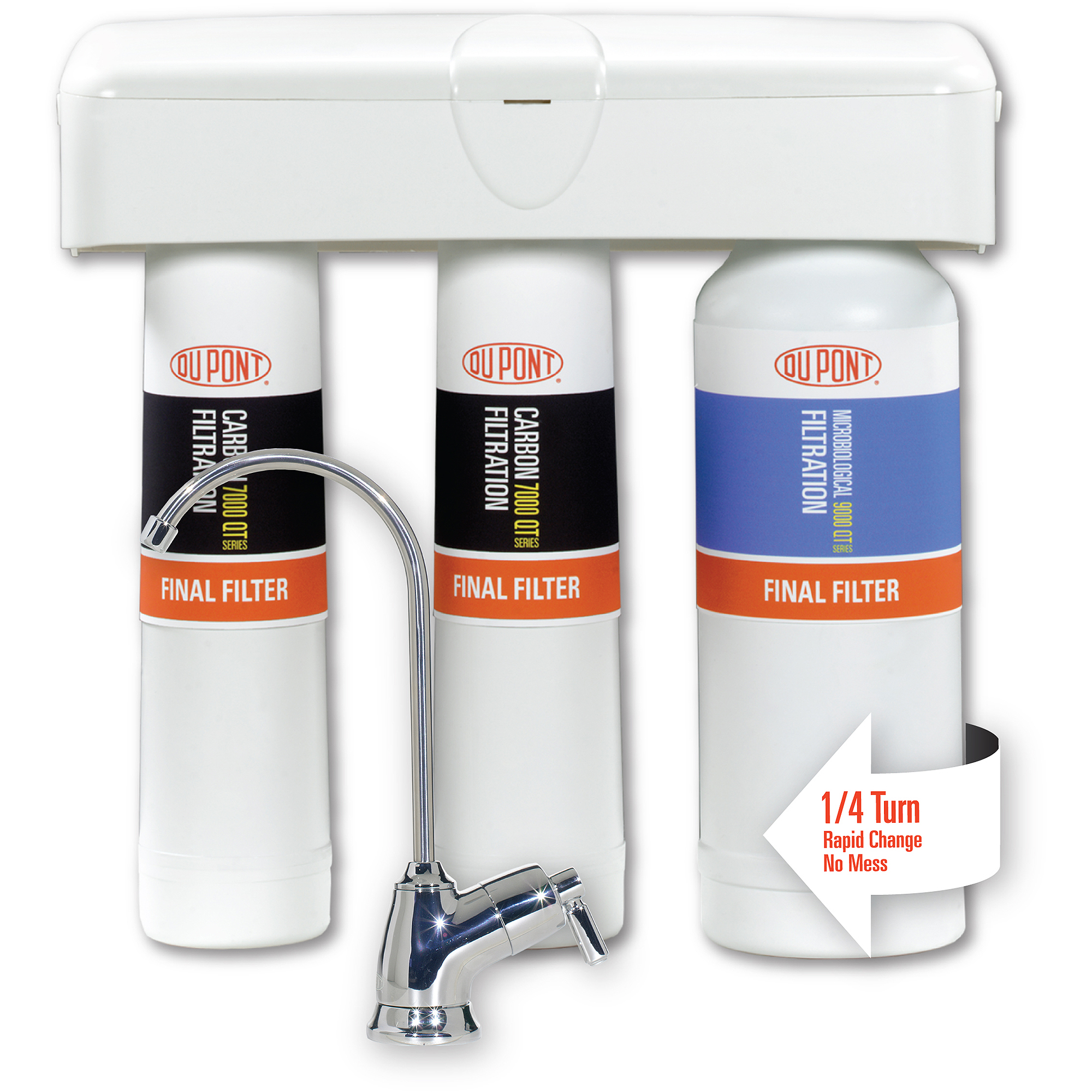 DUPONT WFQT390005 Water Filter System, 1/4 in, 1 gpm