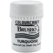 Brusho Crystal Colour 15g-Turquoise