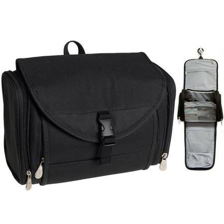 Little Black Travel Case - Travelon Travel Toiletry Hanging Bag Kit Black Case Organizer Shaving Beauty New