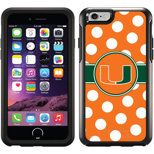 Miami Polka Dots Design on OtterBox Symmetry Series Case for Apple iPhone 6
