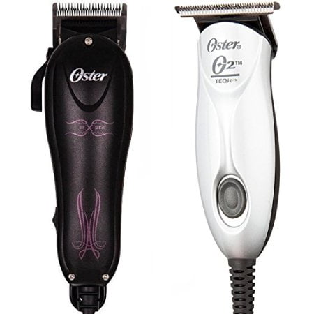 Oster Teqie Trimmer and MX Pro Hair Clipper Combo ...