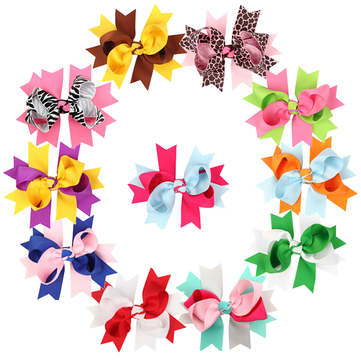 Hair Bows Clips,Coxeer Baby Girls Grosgrain Ribbon Hair Bows Alligator Clips Fashion Headbands For Teens Women Girls Kids Pack Of 11
