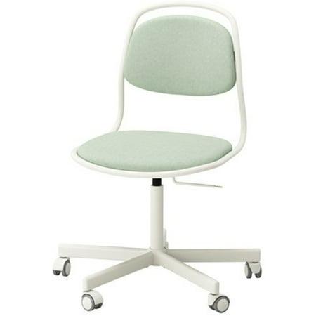 Ikea Swivel chair, white, Vissle light green 4204.20811.3022 Ikea Dining Room