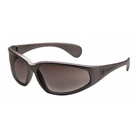 38 Special Safety Glasses Black Frame And Gray Scratch-Resistant Lens SMITH &