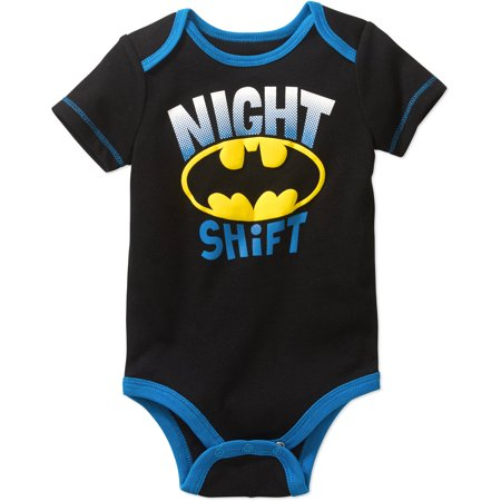 Batman Newborn Baby Boys' Bodysuit