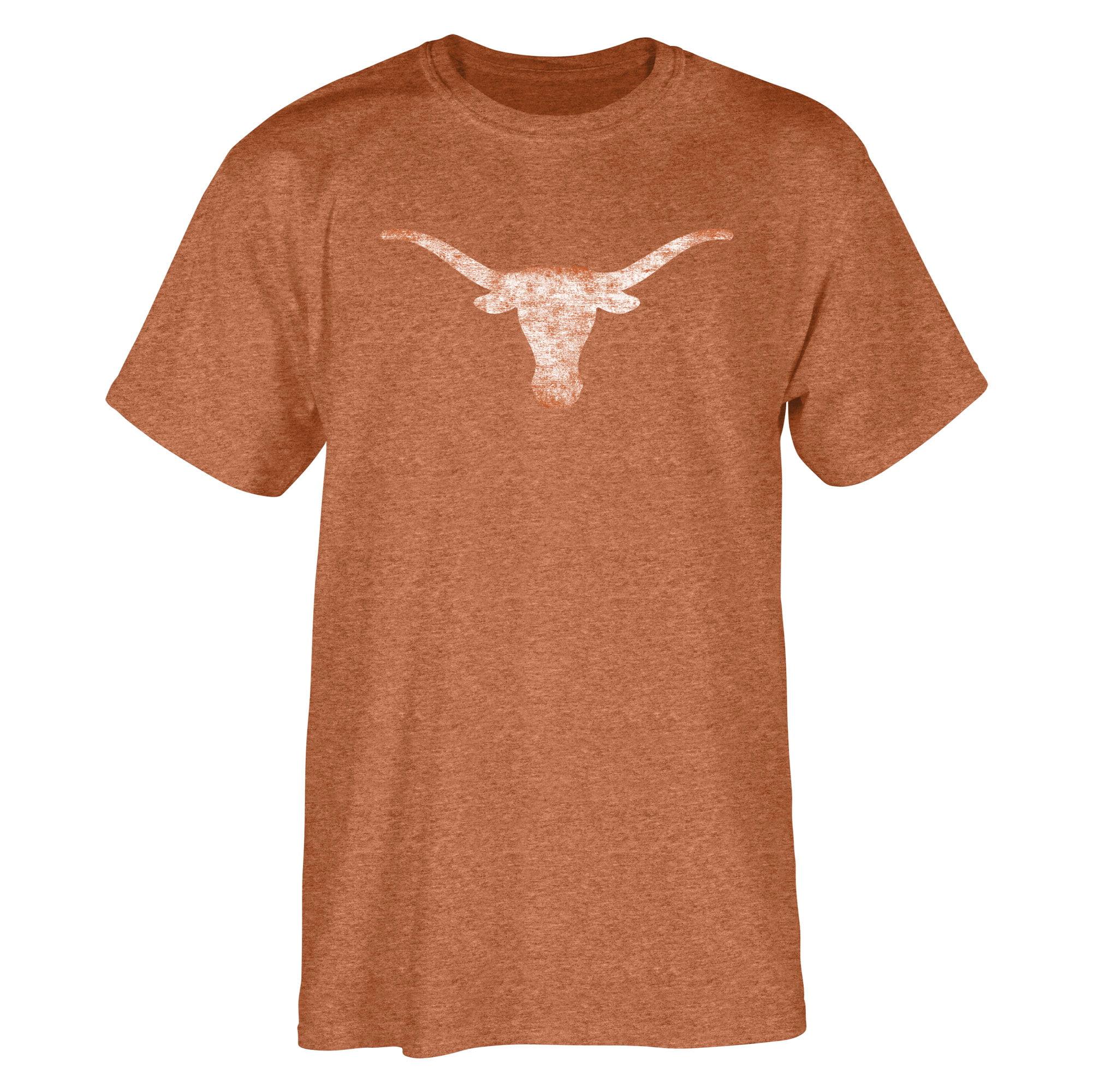 Men's Heathered Texas Orange Texas Longhorns Rocky T-Shirt