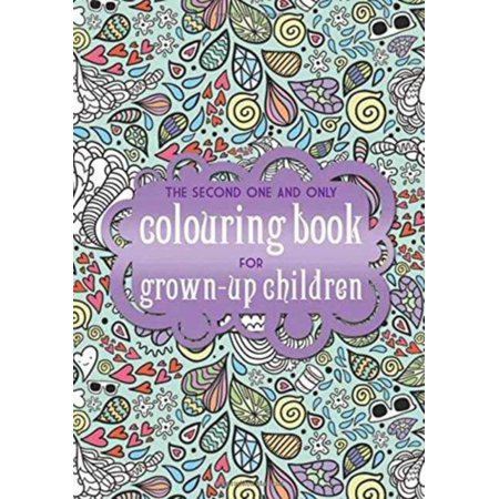 The Second One and Only Colouring Book for Grown up Children (One & Only Colouring Books) (Paperback) - Nicholas Gordon Halloween