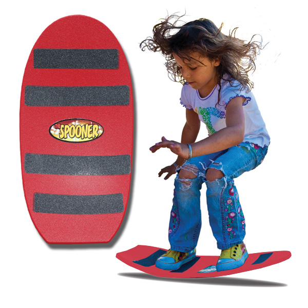 Spooners Board Freestyle Red by Spooner Boards