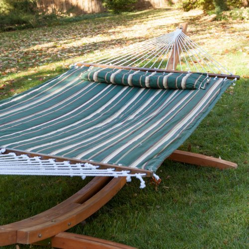 Island Bay 13 ft. Seagrass Quilted Hammock