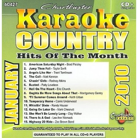 Karaoke: Country Hits Of The Month - January 2010
