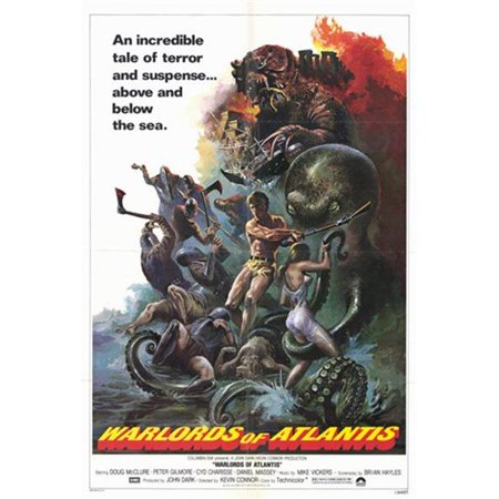 Posterazzi MOV221790 Warlords of Atlantis C.1978 Movie Poster - 11 x 17 in. - image 1 de 1