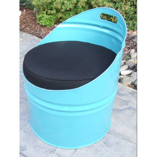 Drum Works Furniture Tucson Club Chair with Cushion