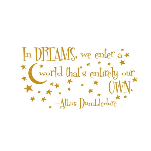 Zoomie Kids In Dreams We Enter Wall Decal