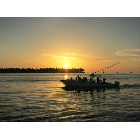 LAMINATED POSTER Sunset Sunset Celebration Florida Usa Key West Poster Print 24 x 36](Key West Halloween Celebration)