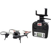 Extreme Fliers 61353 Remote-Control Flying Quadricopter Micro Drone 3.0 Combo Pack, Black