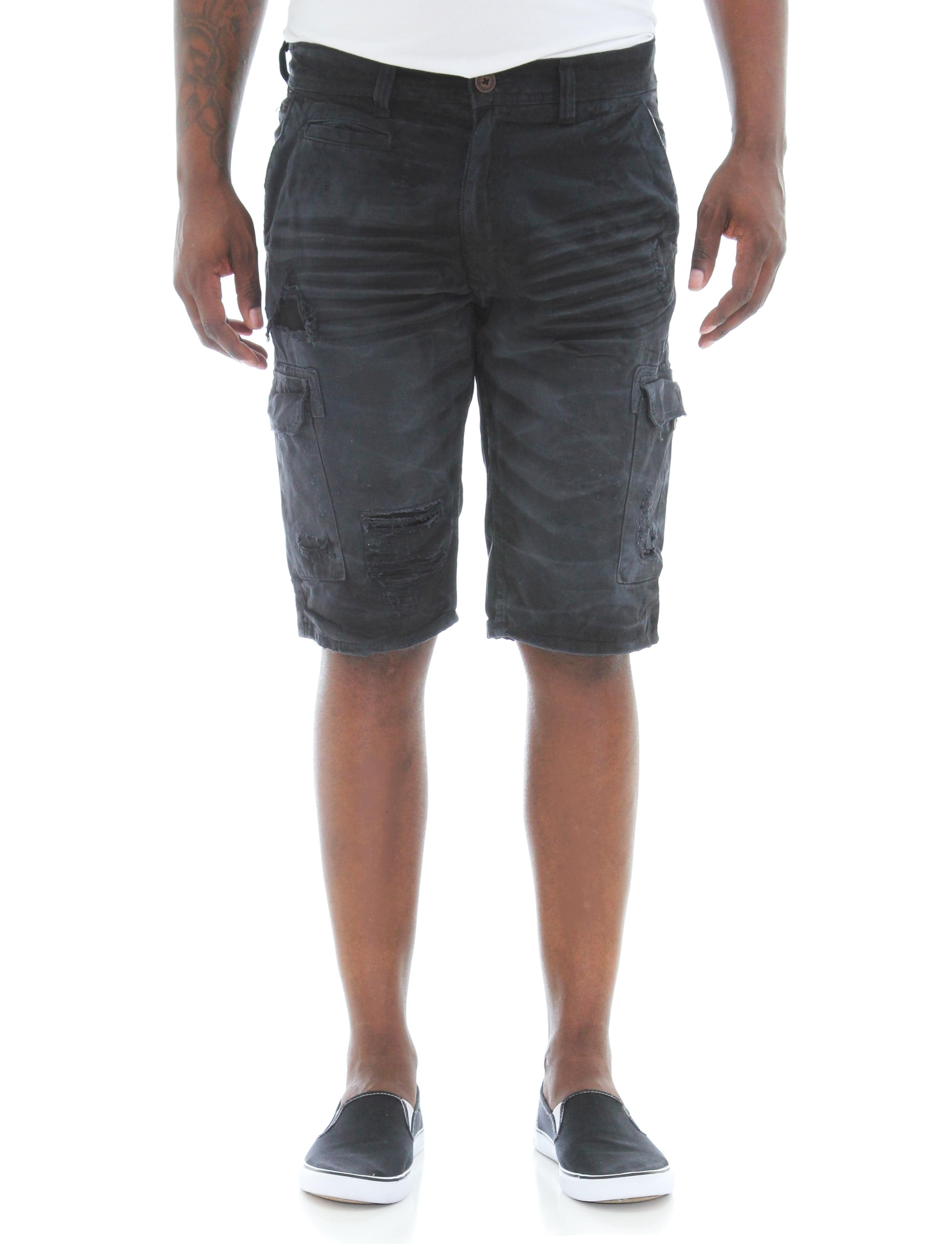 2d8e3cd3e4 Jordan Craig - Jordan Craig Men's Flat Front Ripped Twill Cargo Shorts -  Walmart.com