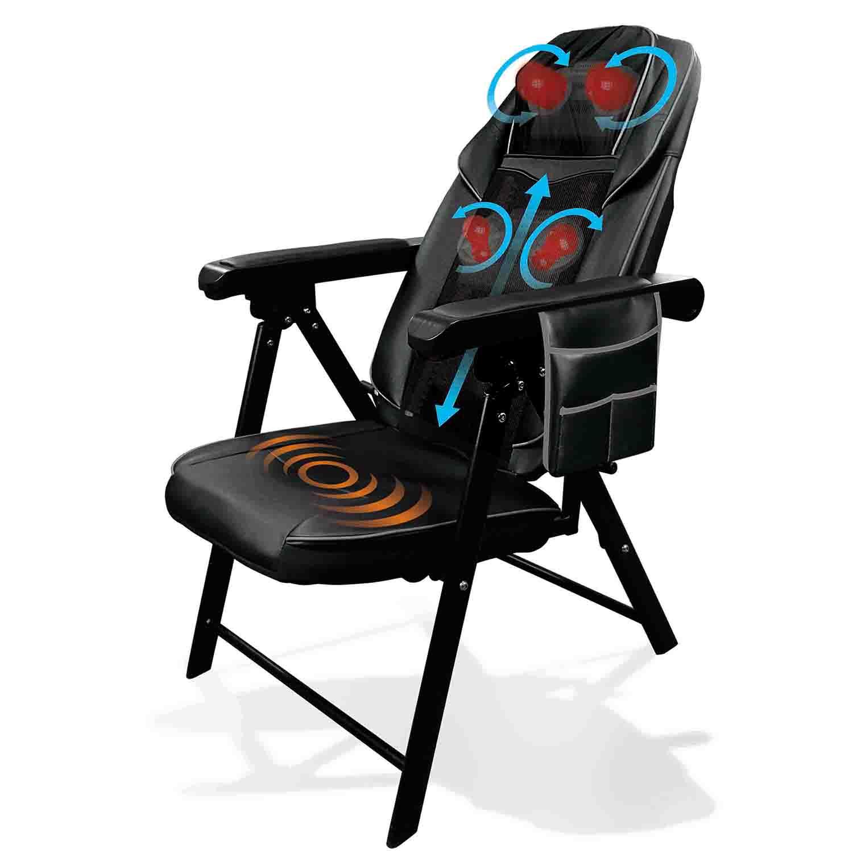 Health Touch Shiatsu Massage Lounge Chair
