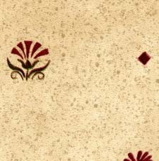Dollhouse 3 Pack Prepasted Wallpaper: Blue & Red Flowers
