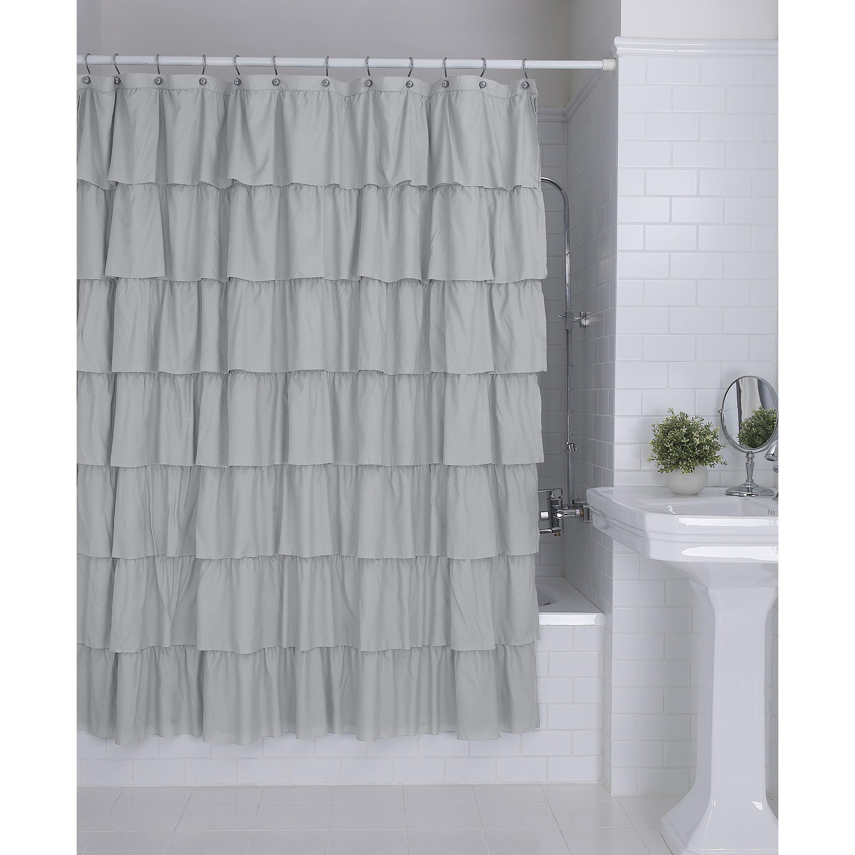 Better Homes & Gardens Ruffles Shower Curtain