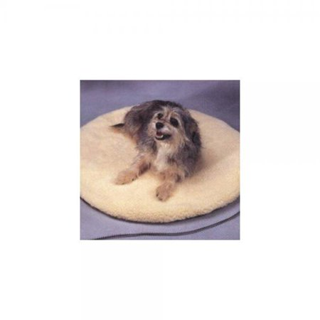 API Poly Cotton Rectangular 15 in. W x 12 in. H Heated Pet Bed