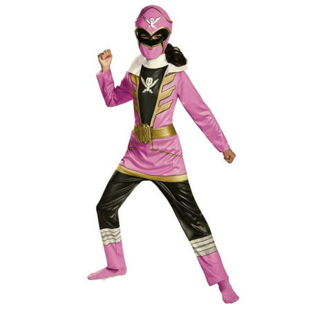 Power Rangers Super Megaforce Girls Pink Ranger Costume with Mask