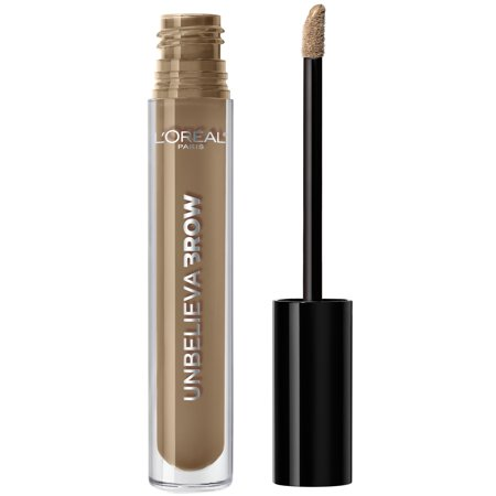 Soft Black Brow Liner - L'Oreal Paris Unbelieva-Brow Longwear Waterproof Brow Gel, Blonde