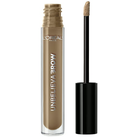 L'Oreal Paris Unbelieva-Brow Longwear Waterproof Brow Gel, Blonde (Brow Finishing Gel)