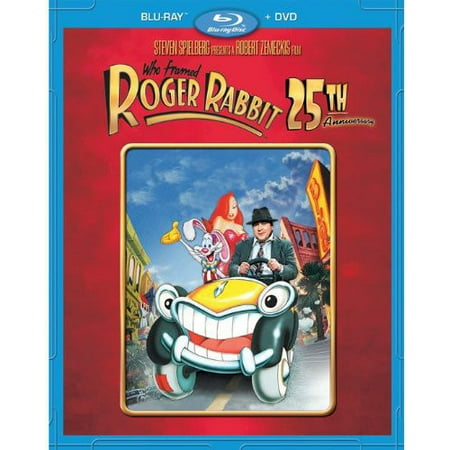 Who Framed Roger Rabbit  25Th Anniversary Edition  Blu Ray   Dvd