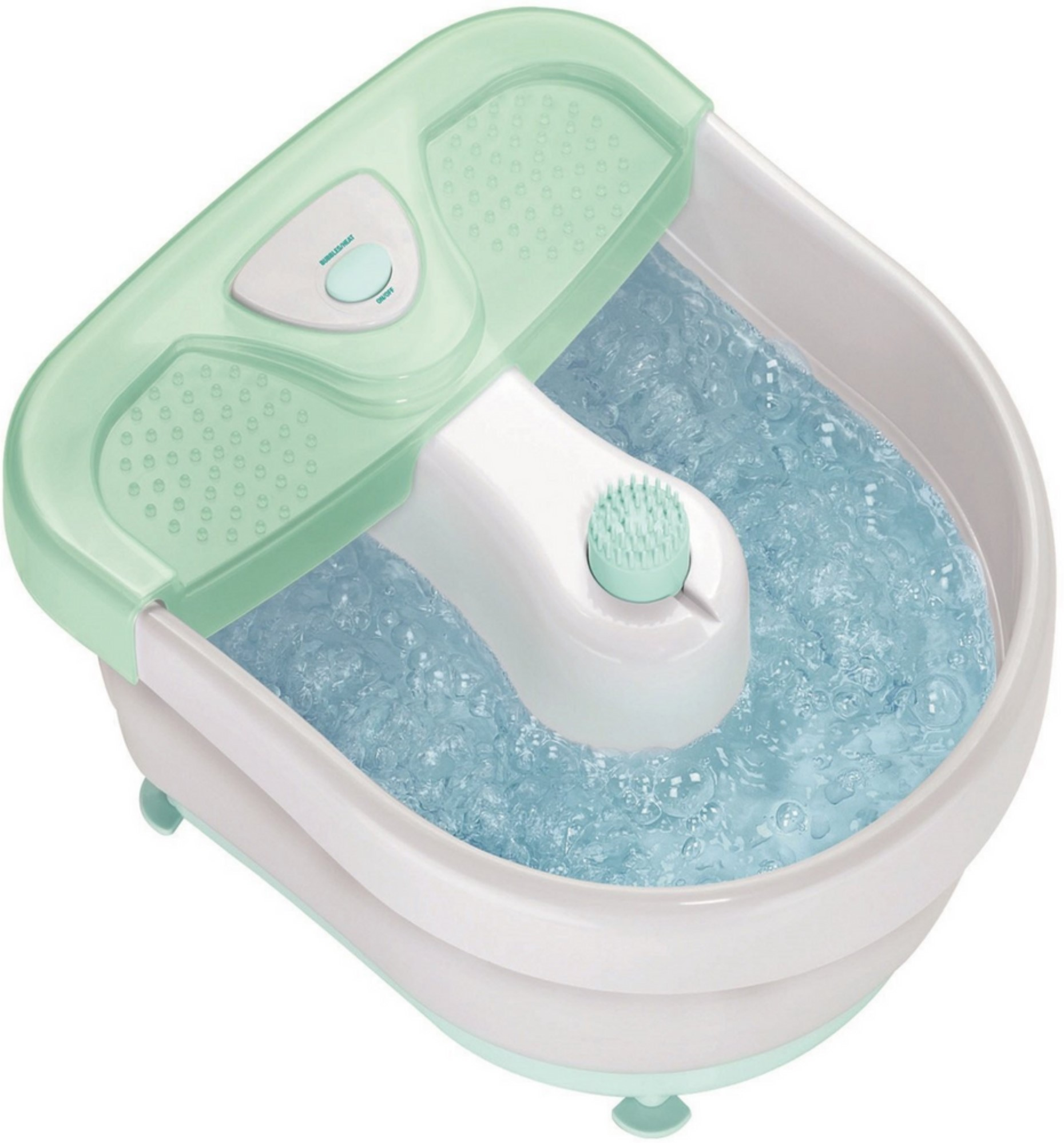 Conair Foot Spa with Massaging Bubbles & Heat 1 ea (Pack of 4 ...
