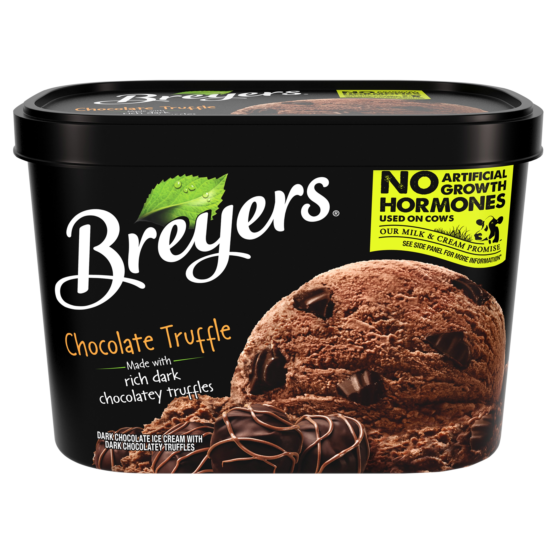 Breyers Original Ice Cream Chocolate Truffle 48 oz