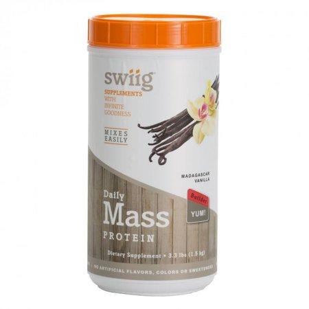 swiig Vanilla Mass Builder 3.3 lbs (Best Forearm Mass Builder)