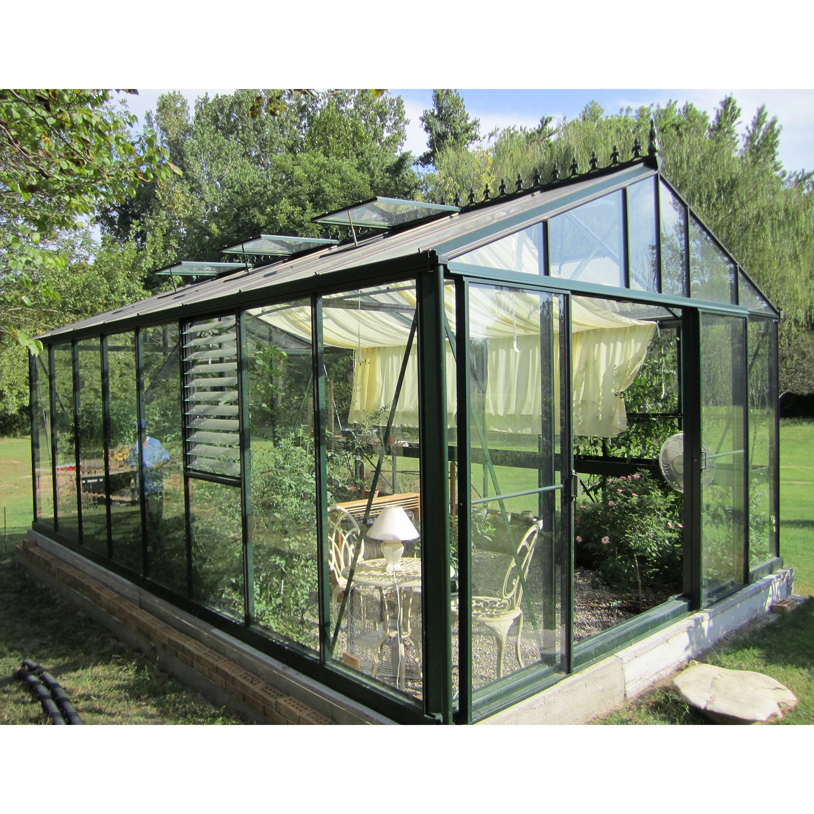 Janssens Royal Victorian 12.58 x 19.91-Foot Greenhouse