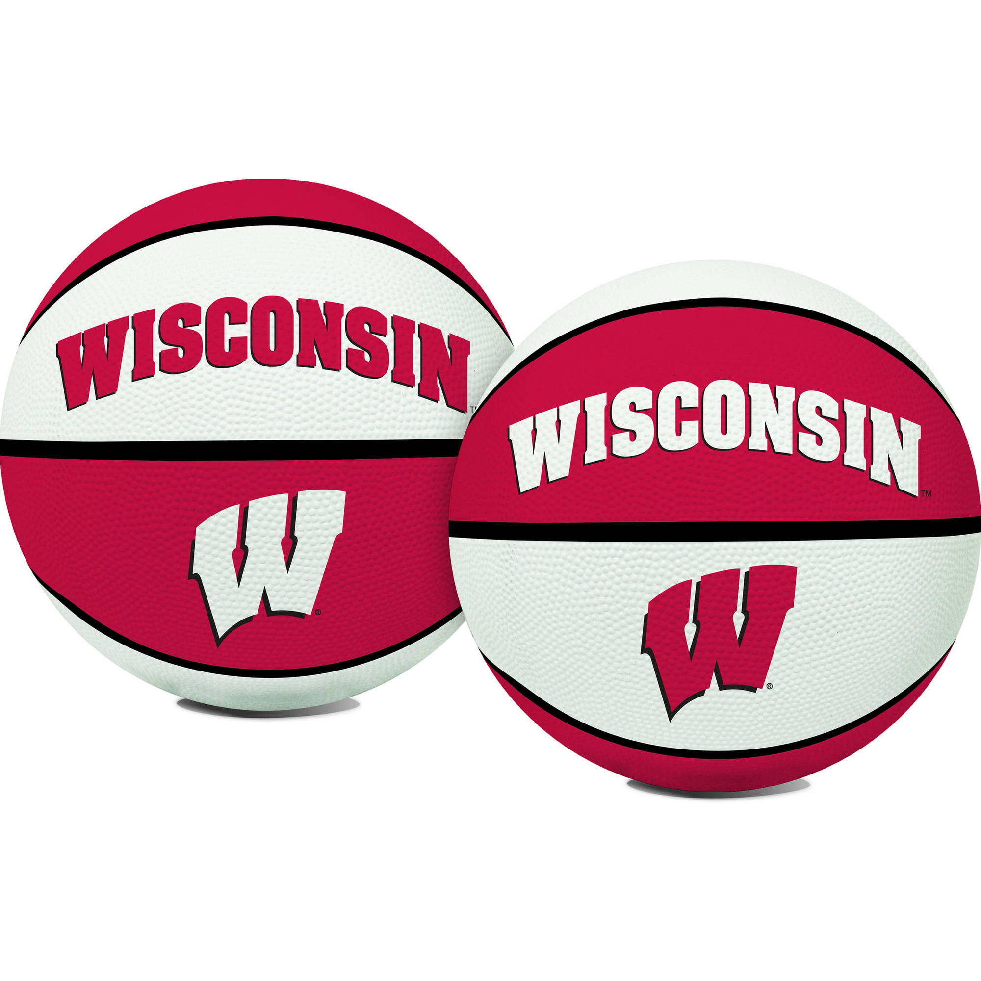 Rawlings NCAA Crossover Full Size Basketball University Of Wisconsin Badgers