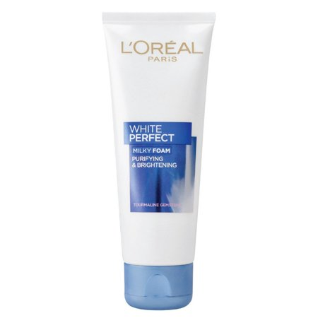 L'Oreal Paris White Perfect Milky Foam Facewash,