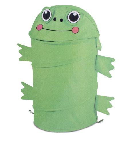 Frog Design Kiddie Pop up Hamper by ETNA